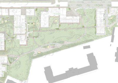 Entwurf und Ausführungsplanung Spallartgasse – Körner Kaserne, Wien 14