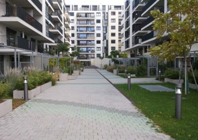 Wohnbau Parklane Appartments, Wien 2