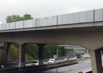 Gestaltung Brückenquerungen, A4 Ost Autobahn