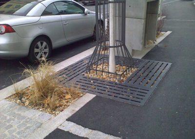 Hauptstraße Mödling Bepflanzung
