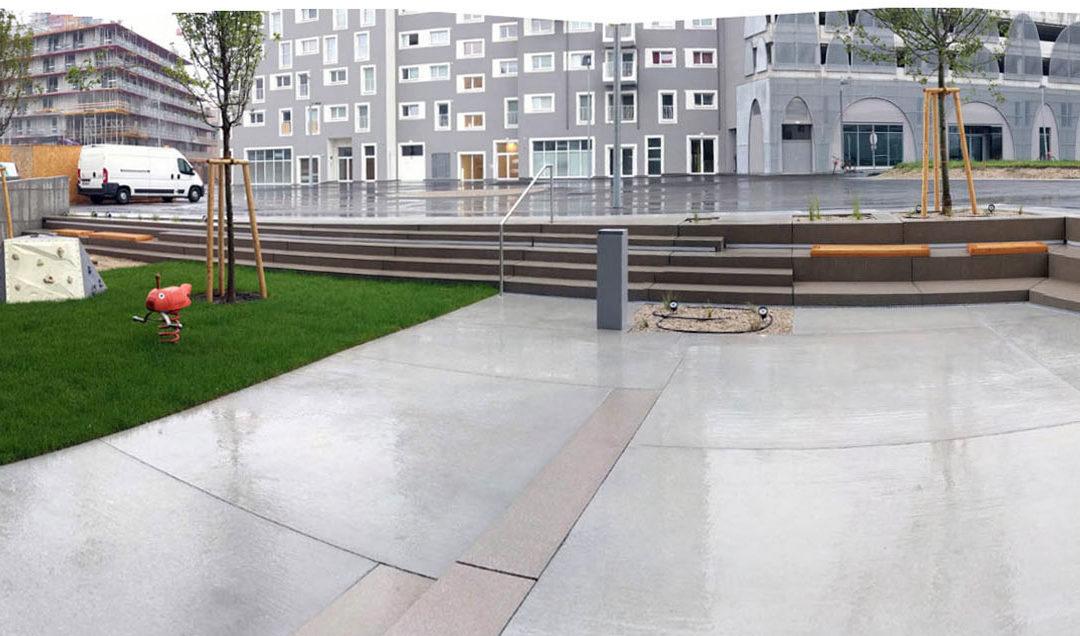 Wohnbau Seeparkquartier, BF J10, Wien 22