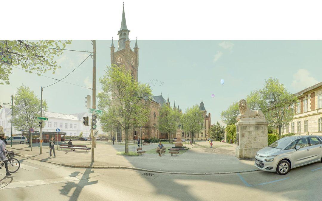 Neugestaltung Josef Hyrtl Platz, Mödling NÖ